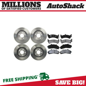 Front Rear Rotors Ceramic Pads For 1995 2000 Ford Explorer 1997 2001 Mountaineer