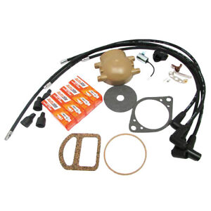 S119491 Tune Up Kit Cap Wires For Front Mount Distributor Fits Ford 8n 9n 2n