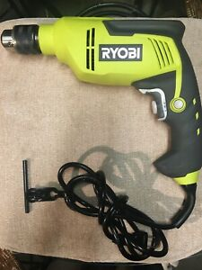 Ryobi 6 2 Amp Corded 1 2 In Variable Speed Hammer Drill W handle D620h