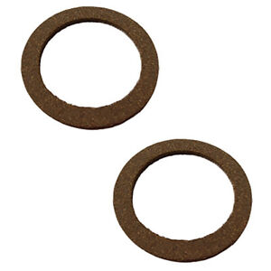 2 Fuel Gas Sediment Bowl Gasket Fits Cub For Fits Ih Farmall A B C 100 200 300 3