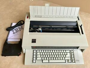 Refurbished Ibm Lexmark Wheelwriter 3 Typewriter Wide Carriage Auto Correction