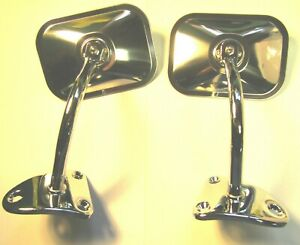 Mopar 61 62 63 64 65 66 67 68 69 70 71 Dodge Truck Mirrors And Bases Pickup New