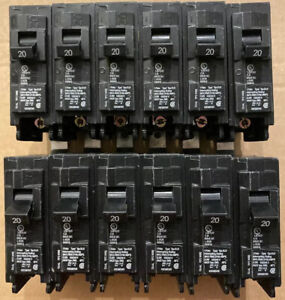 Siemens B120h 20 Amp Circuit Breaker lot Of 12