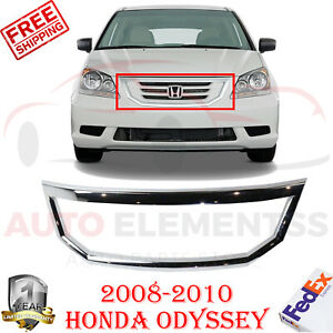 Front Grille Frame Surround Molding Chrome For 2008 2010 Honda Odyssey