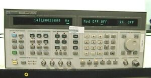 Hp 8664a Synthesized Signal Generator 0 1 3000 Mhz Opt 004 008