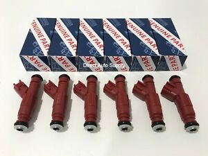 6 New Oem Fuel Injectors For Bosch Jeep Grand Cherokee Wrangler Ford 0280156161