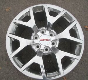 20 Gmc Yukon Sierra Chevrolet Tahoe Silverado Factory Style Polished Wheel 5698