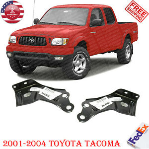 Front Bumper Brackets Left Right Hand Side For 2001 2004 Toyota Tacoma