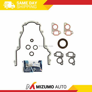 Ls Timing Chain Cover Water Pump Gaskets Main Seal Gm Ls1 Ls2 Ls3 Ls6