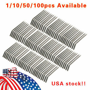 1 100 Usa Dental Air Water Spray Triple Syringe Nozzles Tips Tubes Solid Alloy