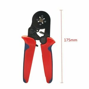 Ferrule Crimper Crimping Plier Kit Tool Wire Terminal Connector Plier 0 25 10mm