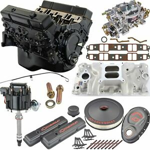 Jegs 3831k2 Small Block Chevy 383 Ci Crate Engine Kit 350 Hp 425 Ft Lbs Includ