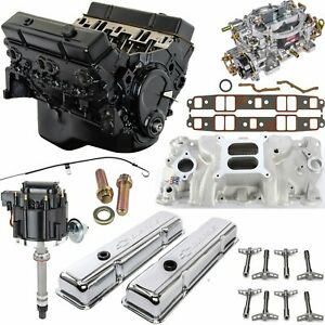 Jegs 3831k3 Small Block Chevy 383 Ci Crate Engine Kit 350 Hp 425 Ft lbs Includ
