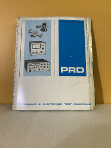 Prd Microwave Electronic Test Equipment Catalog F 65
