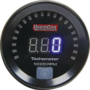 Quickcar Racing Products Digital Tachometer 2 1 16in 67 001