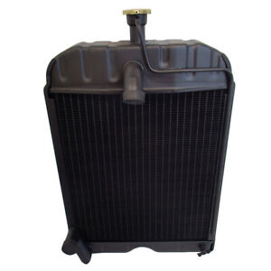 3 Row New Radiator For Ford Tractors 2n 8n 9n 8n8005 With Cap