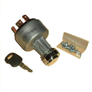 Ignition Switch W 2 Key Fits Caterpillar Cat 307 307b 307c 308c 311 312c 312