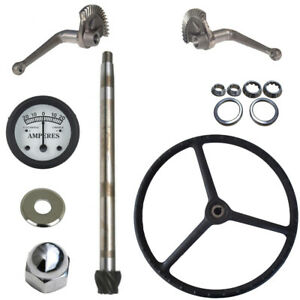 Steering Gear Box Assembly Rebuild Kit Fits Ford Tractor 2n 9n 1939 1947