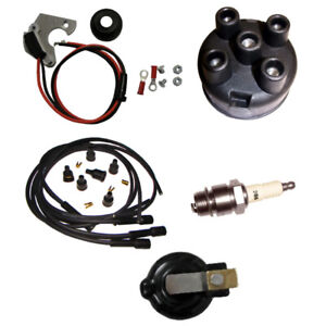Electronic Ignition Tune Up Kit For Fits Ih Farmall Super A C H Hv M Md Mv Mta
