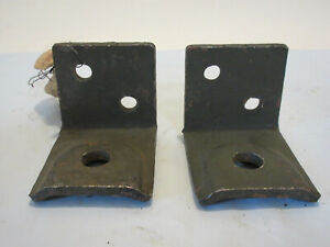 Gpw Jeep Lower Radiator Support Brackets Nos