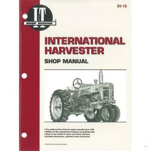 I t Shop Service Repair Technical Manual For International 300 350 Utility Ih10