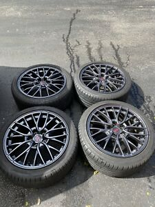 Subaru Wrx Sti Oem Wheels Rims 18 2015 2016 2017 2018 19 With Or Without Tires