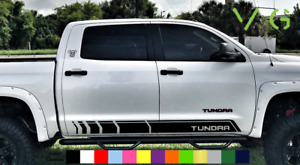 Toyota Tundra Vinyl Decal Sticker Graphics Trd Sport Side Door X2 Any Color 016