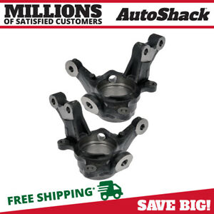 Front Bare Steering Knuckle Pair For 2003 2005 2006 2007 2008 Toyota Corolla