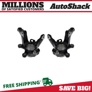 Front Bare Steering Knuckle Pair For 2005 2008 2009 2010 2011 2012 Ford Escape
