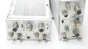 Tektronix 7a18 Dual Trace Amplifier Plug In