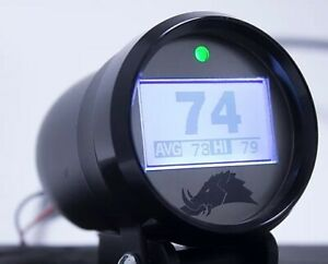 Razorback Black Infrared Belt Temperature Gauge For 2007 2020 Polaris Rzr