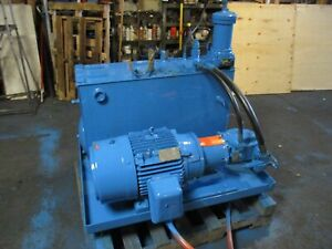 Vickers 15hp 26gpm Hydraulic Power Unit Pvh57 qic