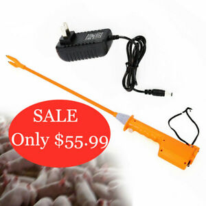 Hot shot Livestock Electric Shocker Prod Cattle Pig Wand Rechargeable Animal