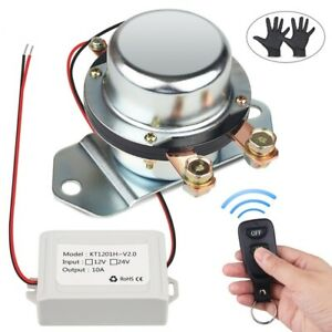Remote Control Car Truck Battery Master Switches 12v 24v Auto Bus Yacht Battery