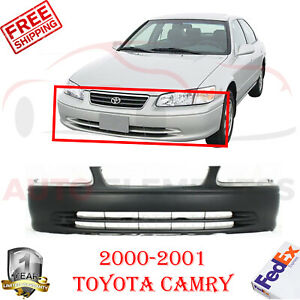 Front Bumper Cover Primed For 2000 2001 Toyota Camry Ce Le Xle