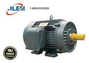 40 Hp 1200 Rpm 3 Phase Premium Efficient Electric Motor 364t Free Shipping