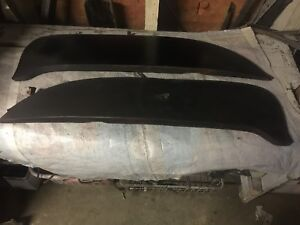 Pair 1959 Ford Nos Foxcraft Fender Skirts Solid