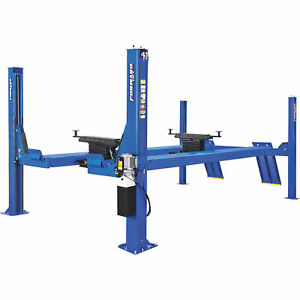 Forward Lift 4post Open Front Truck car Lift 14 000lb Capacity cro14n100ybl
