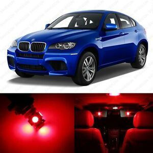 21 X Error Free Red Led Interior Light Package For 2008 2014 Bmw X6 Tool