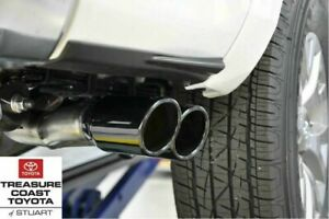 New Toyota Tundra 2017 2020 Borla Stainless Steel Exhaust System With Black Tips