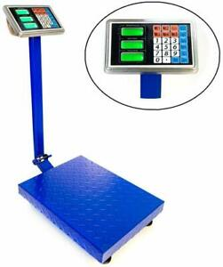 300kg 661lbs Capacity Electronic Platform Scale Lcd Digital Folding Postal Scale