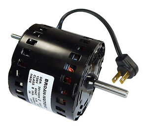 Broan Replacement Vent Fan Motor 1 6 Amps 1700 Rpm 120v 99080596