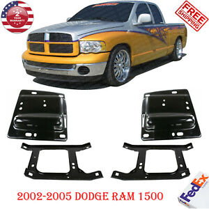 Front Bumper Brackets For 2002 2008 Doge Ram 1500 2003 09 Dodge Ram 2500 3500