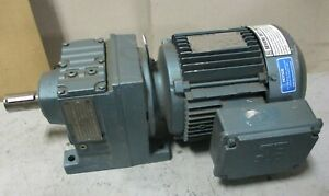 Sew Eurodrive Dft90s4 ks 1 5 Hp Gear Motor W R47dt90s4 ks Reducer 26 7 1 Ratio