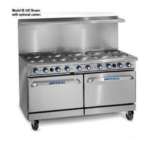 Imperial Ir 10 e 60 In 10 element Electric Range W Standard Ovens