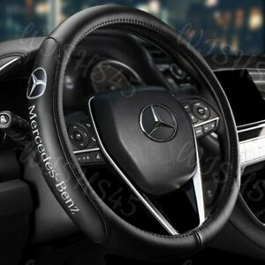 15 Diameter Car Steering Wheel Cover Genuine Leather For Mercedes Benz Amg 2020