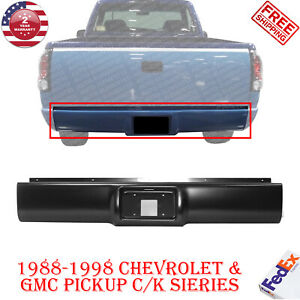 Rear Bumper Roll Pan Primed Fleetside For 1988 1998 Chevrolet Gmc Pickup C K