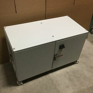 Hoffman Electrical Enclosure Outside Dimensions 48 X 26 X 23 5 holes