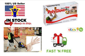 Disposable Gloves Safe Sanitary Work Environment Food Serving 500 1500 Clear