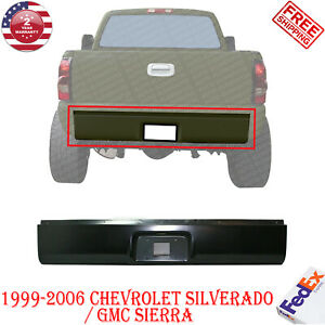 Rear Roll Pan Steel Primed Bumper For 1999 2006 Chevy Silverado Gmc Sierra